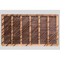 Забор термообработанная сосна (Long life wood)
