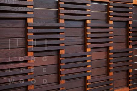 Забор термообработанный ясень - 2