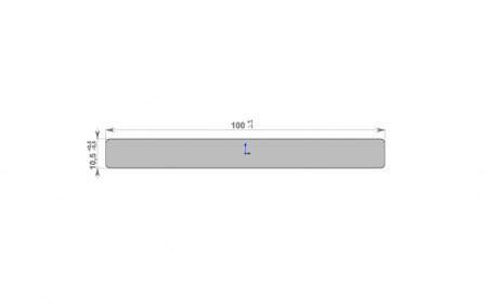 HOLZDORF Декоративная планка Classic/Impress 100*10 - 2