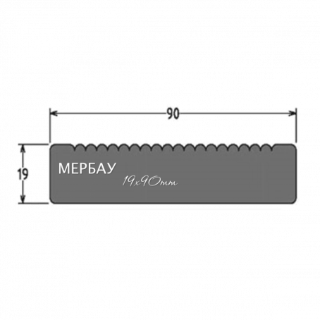 Мербау 90*19*1500-3900 - 5