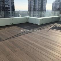 Терраса на балконе из Bruggan Multicalor