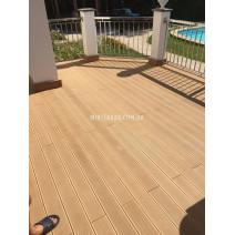 Терраса на балконе из CM Decking Nature
