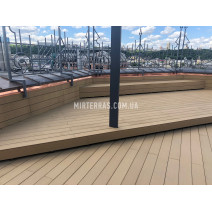 Терраса на крыше из Polymer&Wood Premium