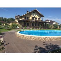 Терраса у бассейна из Polymer&Wood Premium