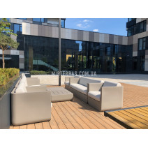 Терраса во дворе многоквартирного дома из Renwood 3D Massive