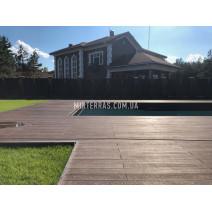 Терраса у бассейна из Renwood 3D